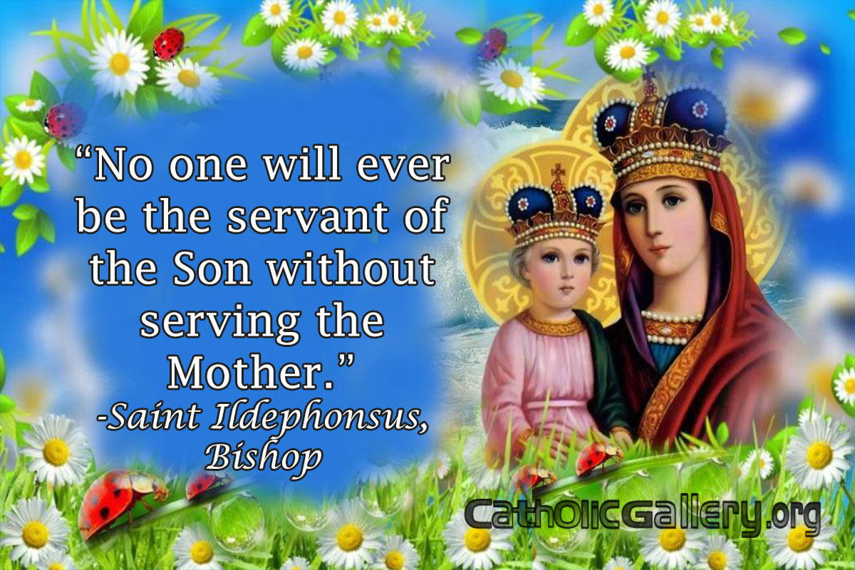 Quotes About Mary Pictures Page 1 Catholic Gallery